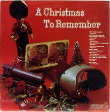 A CHRISTMAS TO REMEMBER VARIOUS ARTISTS 1977 LP COLUMBIA P 13845 EX+/NM SHRINK