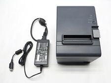 Epson Tm T20ii Usb Model M267d Serial Thermal Receipt Printer Power Adapter