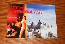 Catatonia International Velvet Postcard 1998 Promo 6x4