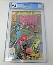 Red Sonja v2 #1 1983 [CGC 9.8] WHITE PAGES High Grade Direct Edition