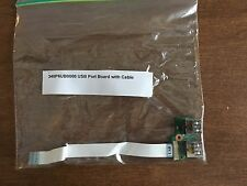 HP 340P6UB0000 USB Port Board with Cable - Used