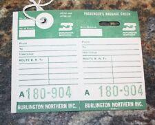 "RARE VINTAGE NORTHERN PACIFIC /""Coach Ticket Identification Envelope/"""