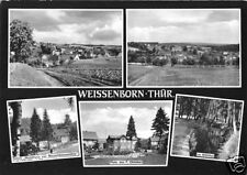 AK, Weissenborn Thür., fünf Abb., gestaltet, 1967