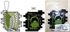 Attack on Titan Rubber Coaster w/ Ball Chain LEVI Proof Kodansha Licensed New