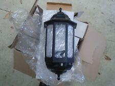 Black ASD Half Lantern - Outdoor/Outside Wall Light (I have 7 available) -