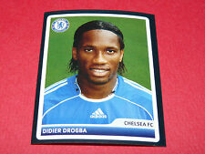 105 DIDIER DROGBA BLUES CHELSEA UEFA PANINI FOOTBALL CHAMPIONS LEAGUE 2006 2007