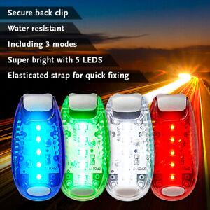 LED Safety Light Night Clip On Waterproof Flashing Running Cycling Bike Pet
