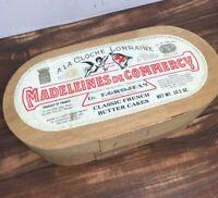 Madeleines de Commercy A la Clouche Lorraine Box with Lid Fast Ship