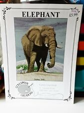 Couch man Creations Cross stitch chart - Elephant