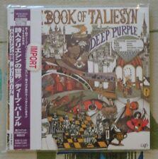Deep Purple - Japan Mini LP CD Book Of Taliesyn VPCK-85321