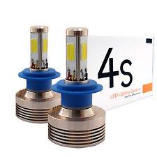 A1 Xenon 2x 4S H7 4-Sided LED Headlight Bulbs 80W Conversion Kit 6000K White
