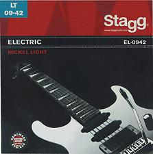 Jeux de 6 Cordes Pour Guitare ELECTRIQUE Acier Light