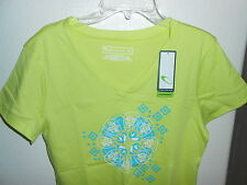 WOMENS SIZE M TEK GEAR GREEN ATHLETIC SHIRT NEW W/TAGS FREE SHIPPING!