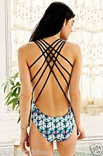 NWT Urban Outfitters Gypsy 05 Suri Strappy Back One Piece Bathing Suit S