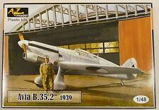 AZ Models 1/48 Avia B 35 2 Czech Luftwaffe AF Fighter 1939 4801