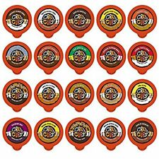 Flavored Coffee Single Serve Cups/K cups Variety Pack Gift Box Sampler,20-count