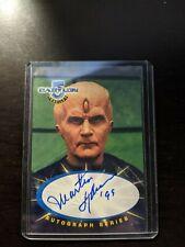 Martin Sheen as Soul Hunter 'Babylon 5' Factory Signed Autograph Card