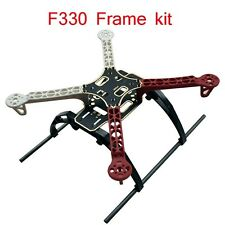 F330 Quadcopter Frame 4-Axis Multi-Rotor Airframe Rack Kit with Landing Gear
