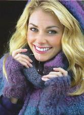 MAG397 LADIES CHUNKY CAPELET, WRIST WARMERS & HAT KNITTING PATTERN