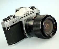 Pentax K1000 35mm Slr Film Camera + 28-70 mm Zoom lens Kit