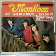 Rare EP The Monkees - Last Train To Clarksville + (RCA Victor, 1966)  Languette
