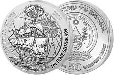 Ruanda 50 Francs 2019 Victoria Nautical Ounce Silber Anlagemünze