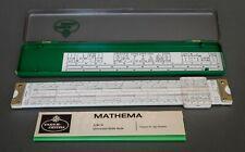 MIB Faber Castell 2/84N Mathema Slide Rule