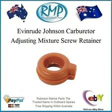 Evinrude Johnson Outboard Carburetor Adjusting Mixture Screw Retainer # 315232 .