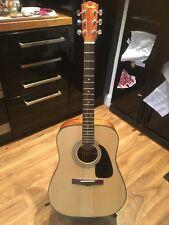Fender DG-8S NAT Acoustic Guitar & Soft Case