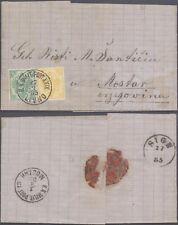 Bosnia 1885 - Cover Livno to Mostar D69