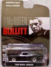 """1968 Dodge Charger """"Bullitt"""" Steve McQueen /  Greenlight Hollywood 1:64"""
