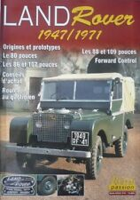 LAND ROVER 1947/1971 ( 80 86 107 pouces / 88 109 SERIE1 1956/58 SERIE 2 1958/71
