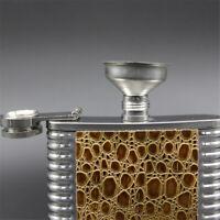 Mini Stainless Steel Hip Flask Funnel Wine Liquid Oil Pot Funnels Kitchen Tool