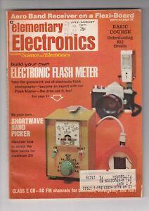 ELECTRONICS WORLD MAGAZINE JULY1971 / FLASH METER / SHORTWAVE / DX / q2