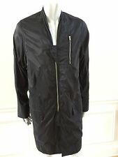 $2110 New RICK OWENS Black Parka 42 Made In Italy