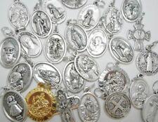 VARIOUS Saint Medal Pendant Keyring St Michael Christopher Gerard Guardian Angel