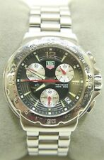 Tag Heuer Indy 500 Chronograph Date Formula 1 Stainless Steel Watch CAC111B