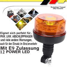 Rundumleuchte Warnleuchte 12 LED 12V 24V Sechs Blitz Zwei Blitz Rotation E-Prüfz