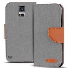 Funda Protectora Samsung Galaxy S5 Neo con Tapa Case para Móvil Plegable Cover