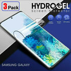 3-Pack HYDROGEL Screen Protector For Samsung Galaxy S21 S10 S9 S8 Plus Note 20