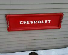 47 - 53 Chevy tailgate wall mount bench (RED, basic)