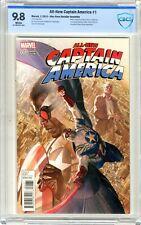 All-New Captain America   #1  CBCS  9.8   NMMT   White pgs Alex Ross Retail Inc