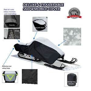 Arctic Cat ZL 440 500 550 600 800 Trailerable Snowmobile Sled Storage Cover