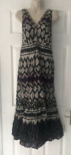 CASUAL DEBENHAMS ladies summer print dress size 12