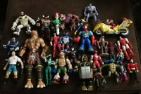 Toy figure lot mixed Marvel/DC/Various Others Nice Collection Vintage And...