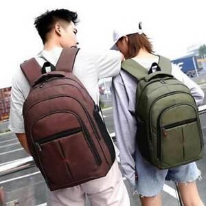 Men Durable Backpack Rucksack Sports Travel Hiking Work School Bags New