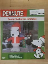 Peanuts Snoopy Airblown Inflatable 3.5 Feet Tall Indoor/Outdoor LED New