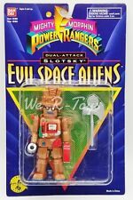 Bandai Mighty Morphin Power Rangers Evil Space Aliens SLOTSKY From 1995 MIP