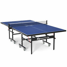 Goplus Professional Table Tennis Table Indoor/Outdoor  Foldable Ping-Pong Table