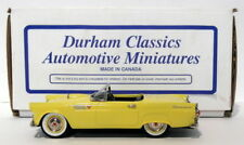 Durham Classics 1/43 Scale DC33A - 1955 Ford Thunderbird - Yellow